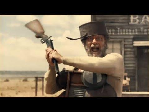 "Buster Scruggs - ""Pan-Shot""!! Scene"