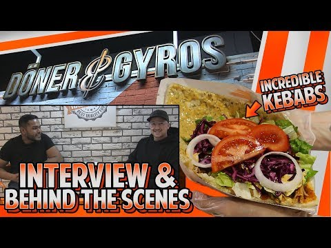 Doner & Gyros First Uk Branch | Interview & Behind The Scenes