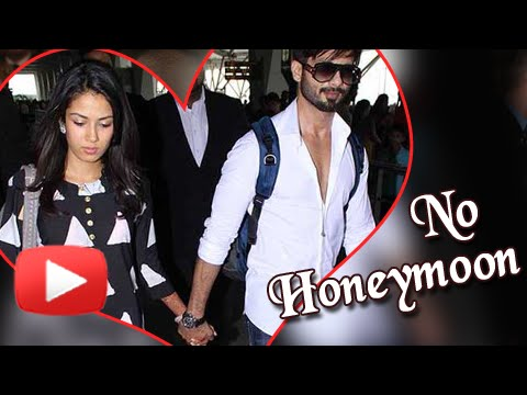 Shahid Kapoor and Mira Rajput will not go for Hone