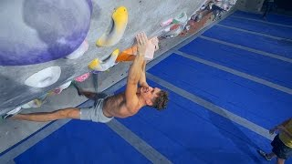 Hannes Is Having A Hard Climbing Day by Eric Karlsson Bouldering