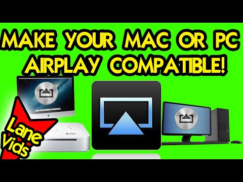macorpc - I show you how to turn your Mac (and PC), in my case a Mac Mini, into an airplay receiver so that your Mac or PC computer becomes AirPlay Compatible. Subscri...