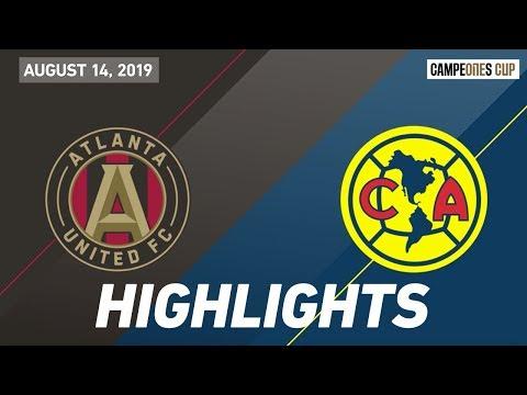 Video: Atlanta United FC vs. Club America | HIGHLIGHTS - August 14, 2019