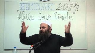Rreziqet që i kanosen Ummetit - Hoxhë Bekir Halimi (Seminari Njihe Fenë Tënde - Tetovë 2014)