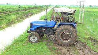 Kirloskar Stuck in mud Rescue by Sonalika 60