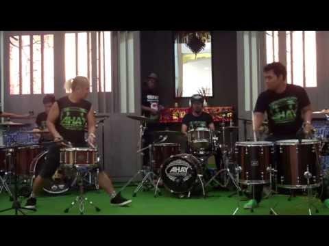Rampak Ahay @ Bekasi Drums Out 2015