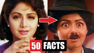 Video 50 Facts You Didn't Know About Sridevi MP3, 3GP, MP4, WEBM, AVI, FLV Januari 2019
