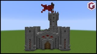 How to make a Mini Minecraft Castle (Pocket Castle)