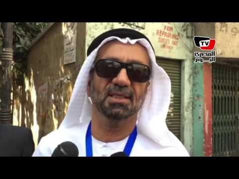 رئيس البرلمان العربي يتفقد اللجان الانتخابية بالزمالك ويشيد بالتأمين