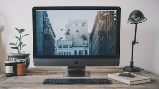 Video editing on the iMac Pro