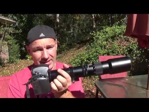 Budget 500mm f/8 prime lens w/ Pentax K-70 Camera review