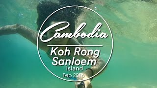Koh Rong Sanloem Cambodia  city photo : Koh Rong Sanloem, Cambodia | Solo Travel | Feb 2016