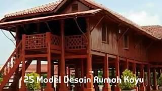 Video 25 Model Rumah Kayu MP3, 3GP, MP4, WEBM, AVI, FLV Desember 2017