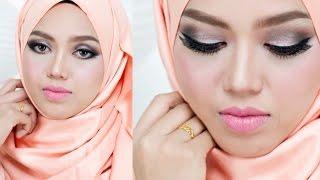 Solekan Mata Bundar - Smokey Cut Crease Eyeshadow
