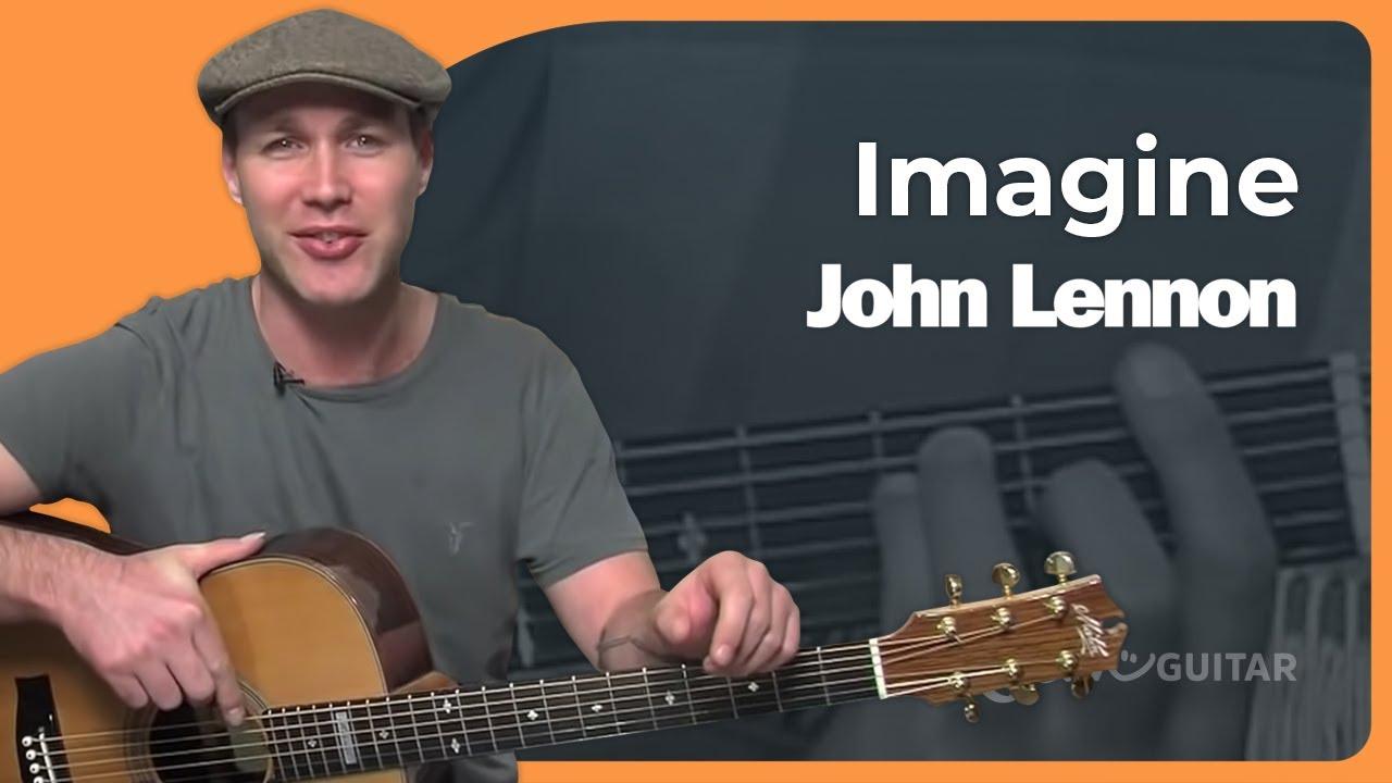 Imagine – John Lennon (Beginner Song Guitar Lesson BS-992) How to play