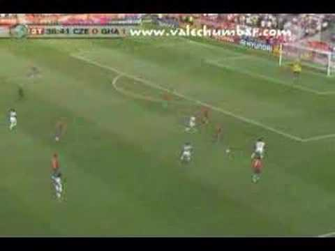 República Checa vs Ghana, Mundial Alemania 2006
