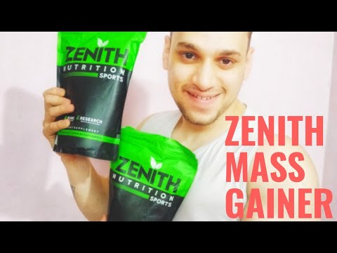 ZENITH NUTRITION MASS GAINER  MUSCLE SIZE  FULL REVIEW