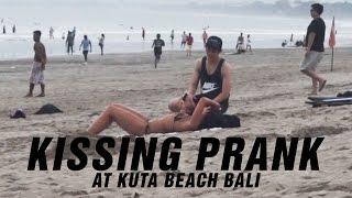 Video Kissing Prank at Kuta Beach Bali! MP3, 3GP, MP4, WEBM, AVI, FLV November 2017