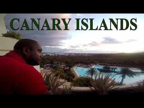 TRAVEL VLOG: CANARY ISLANDS   Costa Teguise