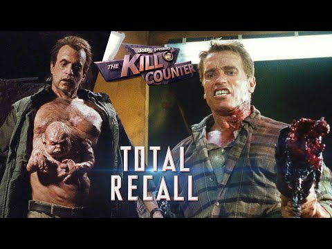 Total Recall (1990) - The Kill Counter