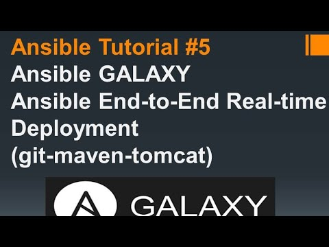 DevOps | Ansible galaxy| tags | real time playbooks | git-maven-apache tomcat | Ansible Tutorial #5
