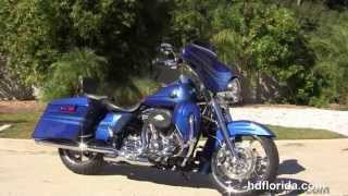 7. Used 2013 Harley Davidson CVO Road King Motorcycles for sale.