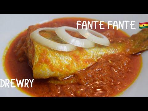 BEST GHANA FANTE FANTE/FISHERMEN STEW
