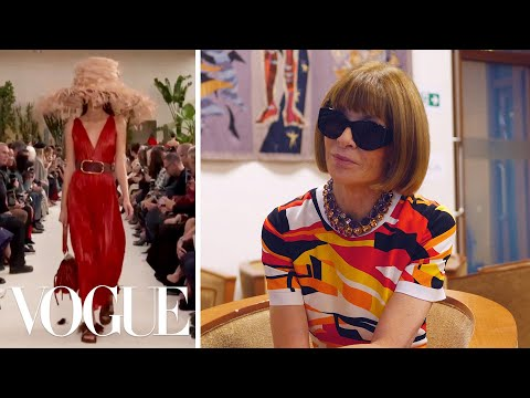 Anna Wintour On the Highlights of Paris Fashion Week   Vogue