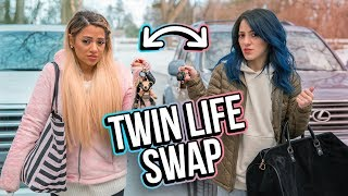 Opposite Twins Swap Lives for a Day!