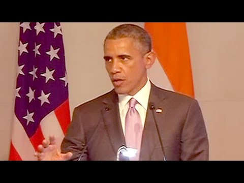 president - At a meeting of top US and Indian CEOs that he attended with US President Barack Obama today, Prime Minister Narendra Modi promised that he would