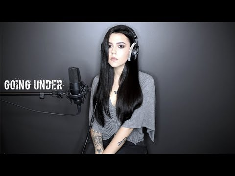 "Evanescence  ""Going Under"" Cover by Violet Orlandi"