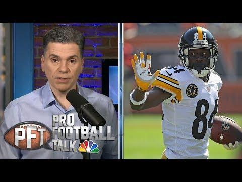 Video: Antonio Brown's goodbye tweet heaps challenges on Steelers   Pro Football Talk   NBC Sports