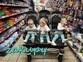Trojaczki na zakupach | Ważymy i mierzymy dziewczynki