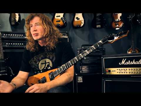 GuitarCenterTV - Dave Mustaine gets down to basics with us at Guitar Center. In this Metal Mania feature, he discusses his new Dean guitar and what influenced him to create t...