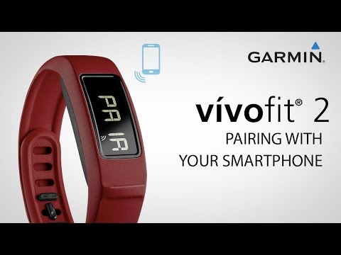 VIDEO: Garmin vivofit 2 - Pairing with your Smartphone