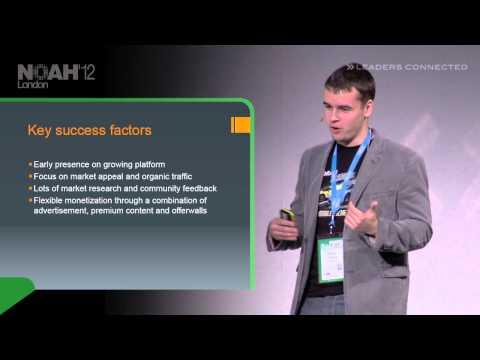 NOAH12 London - Creative Mobile, Vladimir Funtikov