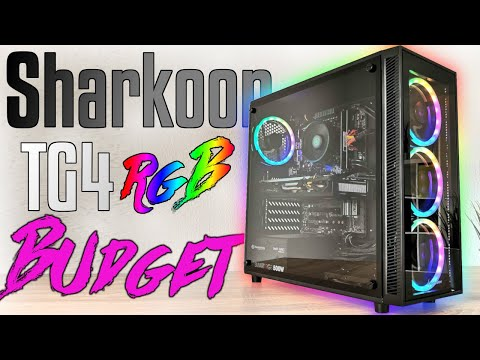 650€ - Sharkoon TG4 RGB, RYZEN 2600, RX590, ASRock B450, Gaming PC selber bauen -  Zusammenbau 2020