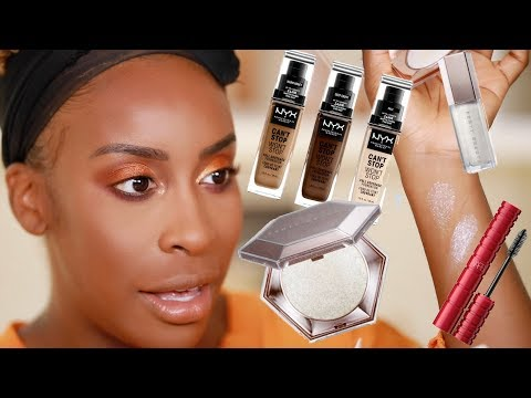 GRWM - Makeup + Meeting My Subscriber!!!  Jackie Aina
