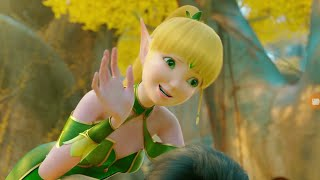 Throne of Elves Best excitement moment when little fish return animated full movie