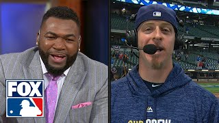 Erik Kratz joins FOX MLB crew to recap Milwaukee's huge Game 6 win   FOX MLB by FOX Sports