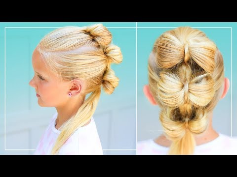 New hairstyle - Triple Bow Hawk  Back to School Hairstyle