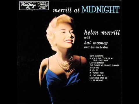 Tekst piosenki Helen Merrill - The Things We Did Last Summer po polsku