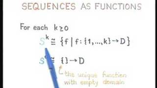 Lecture - 22 Sequences