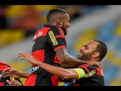 Gols, Flamengo 2 x 1 Bangu – Campeonato Carioca 25/03/2015