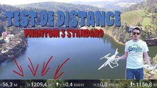 Aujourd'hui je test la portée maximale du DJI Phantom 3 Standard en condition optimale ! Voir le test du drone...