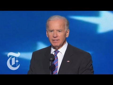 Biden - Vice President Joseph R. Biden Jr. accepts his party's nomination at the Democratic National Convention. Click here to see more videos from the DNC: http://n...