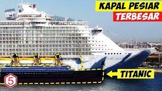 Download Video Titanic Semungil ini Jika diBandingkan Dengan Kapal Pesiar Terbesar Di Dunia ini MP3 3GP MP4
