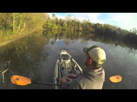 Kayak Pond Fishing