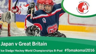Tomakomai Japan  city pictures gallery : Japan v Great Britain | Prelim | 2016 Ice Sledge Hockey World Championships B-Pool, Tomakomai