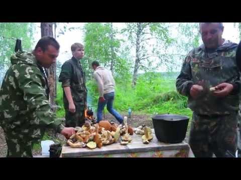 рыбалка и готовка в тайге видео