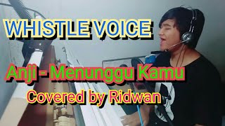 Video Anji - Menunggu Kamu covered by Ridwan MP3, 3GP, MP4, WEBM, AVI, FLV Maret 2018